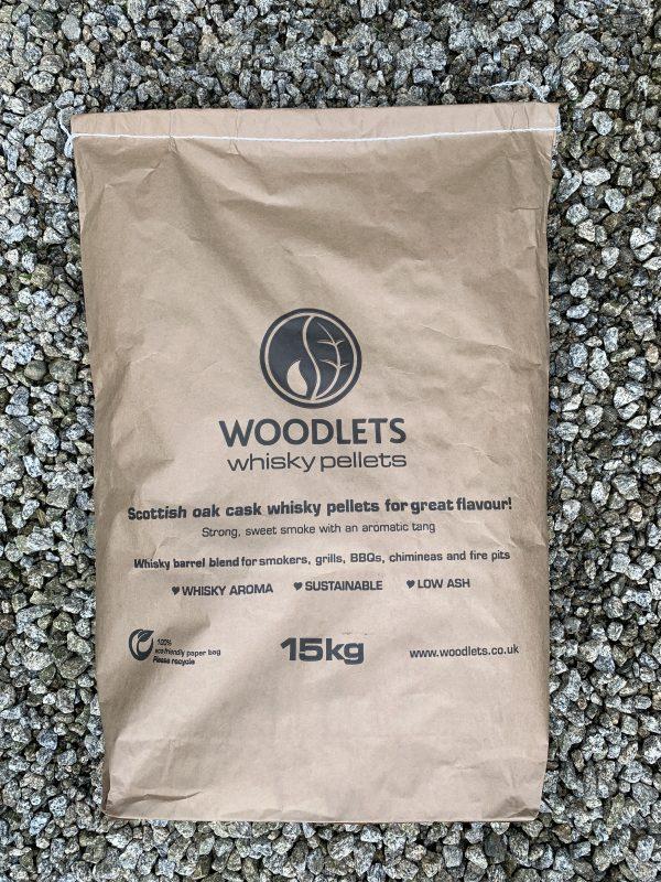 Whisky pellet bag