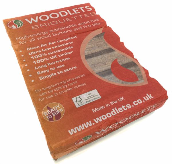 woodlets briquettes